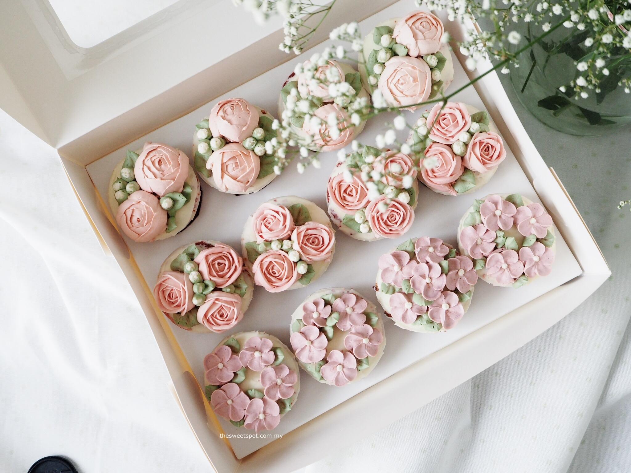 Cupcake box 1 - pink