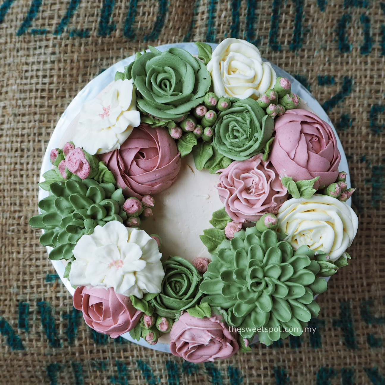 Bespoke Buttercream Flower Cakes