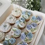 Cupcake box 2 - blue