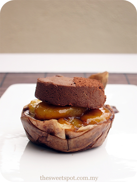 Chocolate Caramel Banana Tart Recipe — Dishmaps