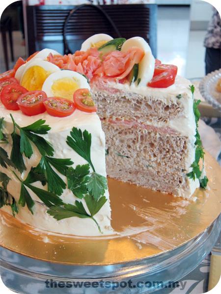 Smörgåstårta, a Swedish Sandwich Cake – The Sweet Spot
