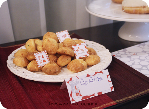 Christmas - gougeres