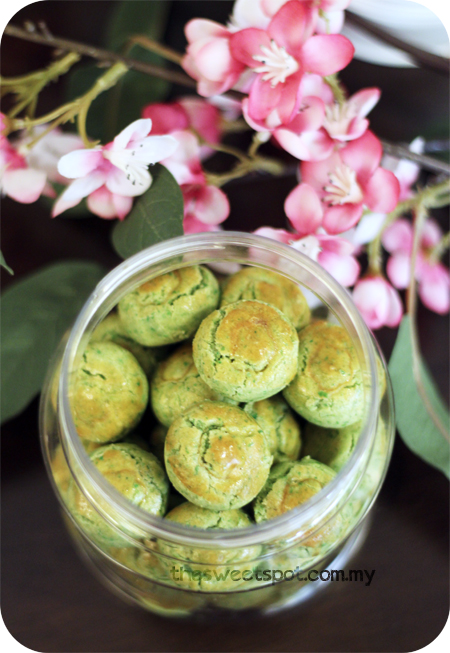 CNY_home_green pea cookies