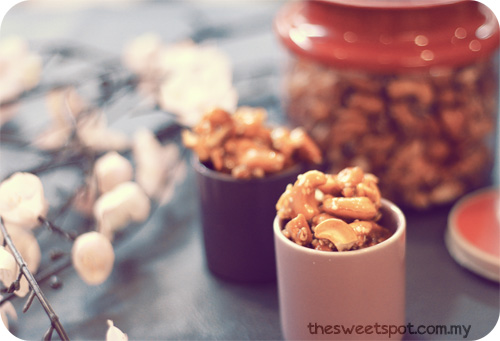 CNY - candied cashew nuutss