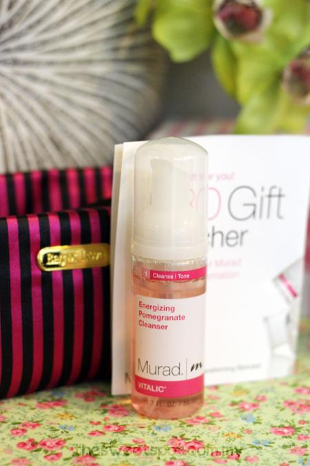 bag of love - murad cleanser