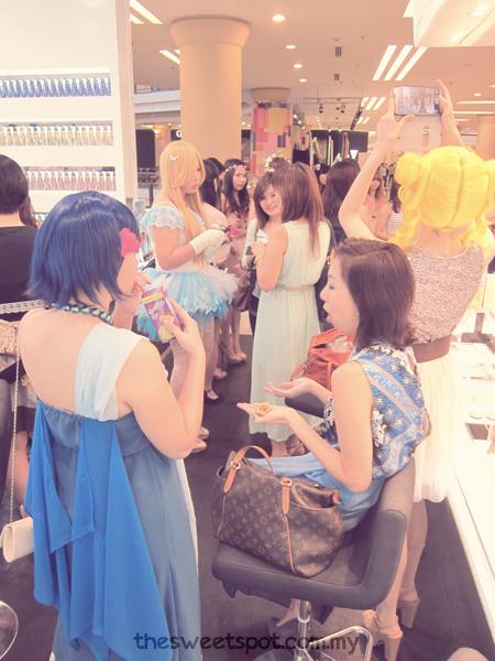 shu-uemura-ob princess party