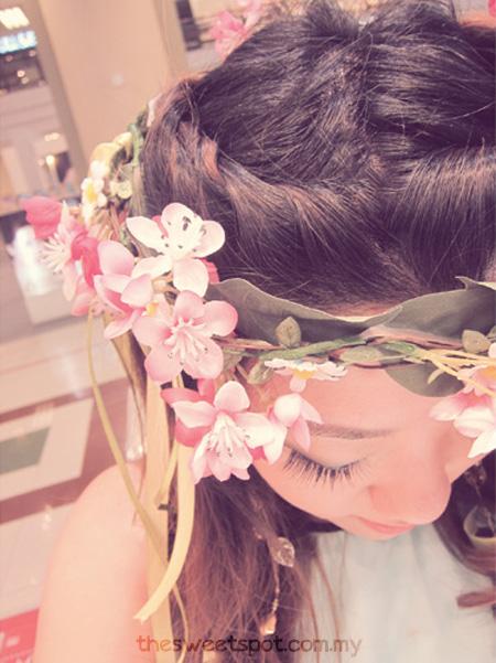 shu uemura princess party hair