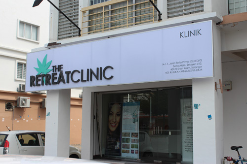 the retreat clinic setia alam