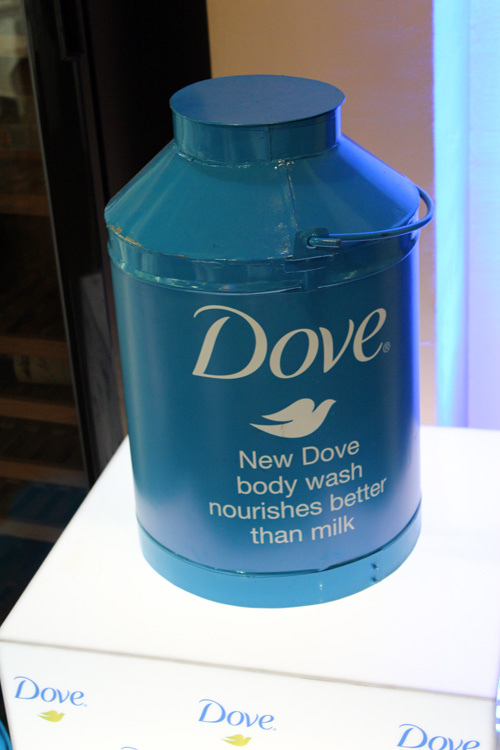 Dove - milk bottle