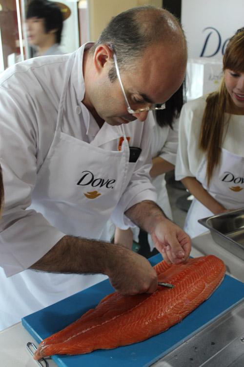 Dove - salmon