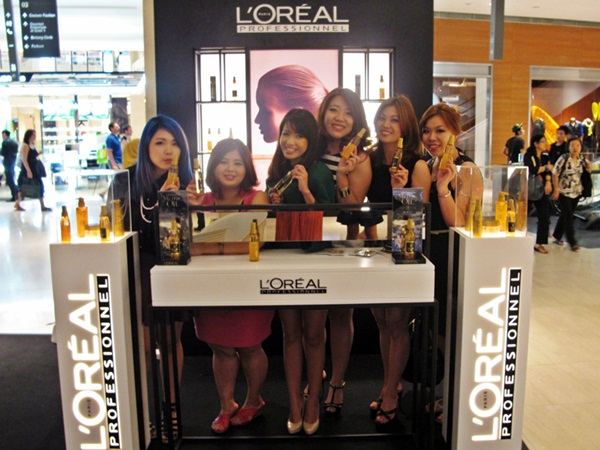 Loreal KLFW group shot