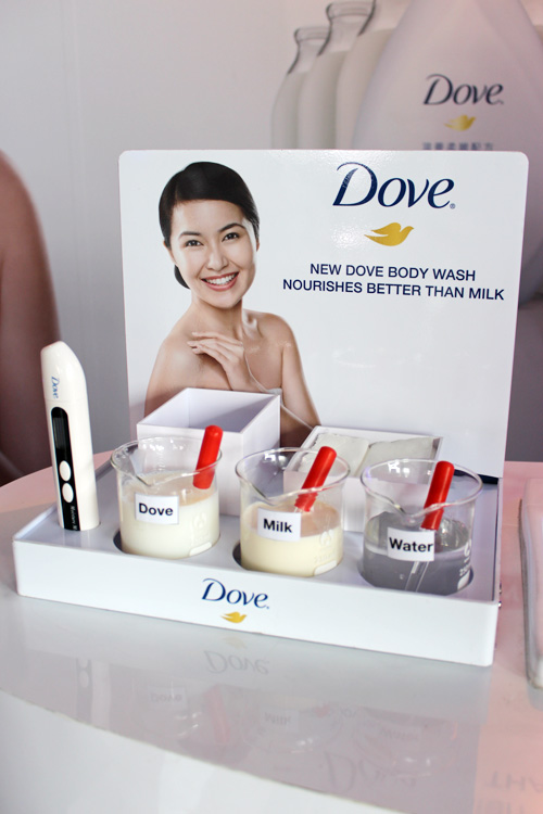 dove - milk comparision