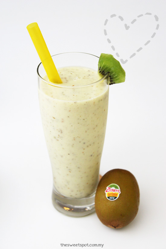 sungold kiwi smoothie