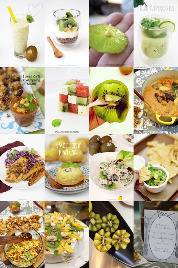 Zespri challenge kiwi recipes