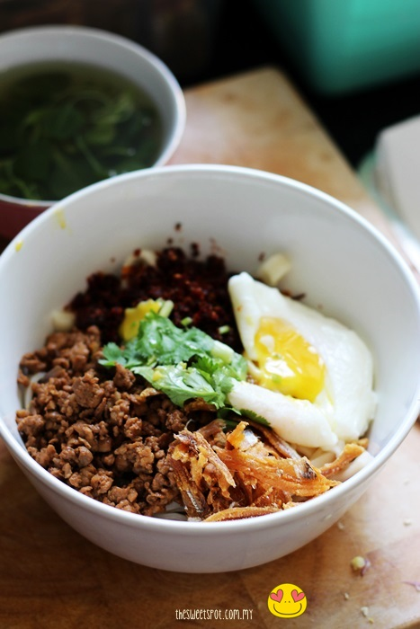 chili pan mee recipe