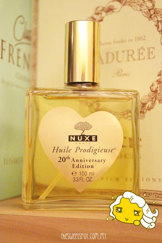 nuxe huile prodigieuse 4