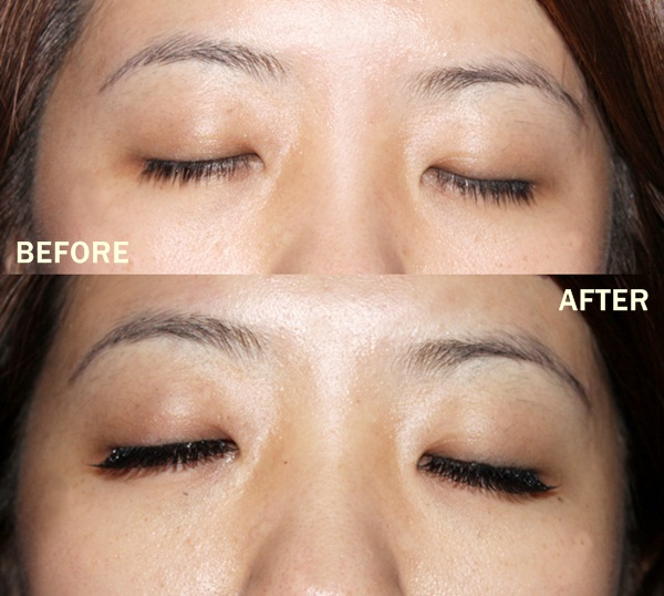 pink passion eyelash extension front - close