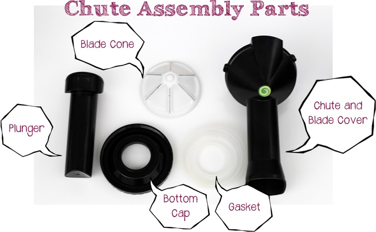 yonanas assembly parts