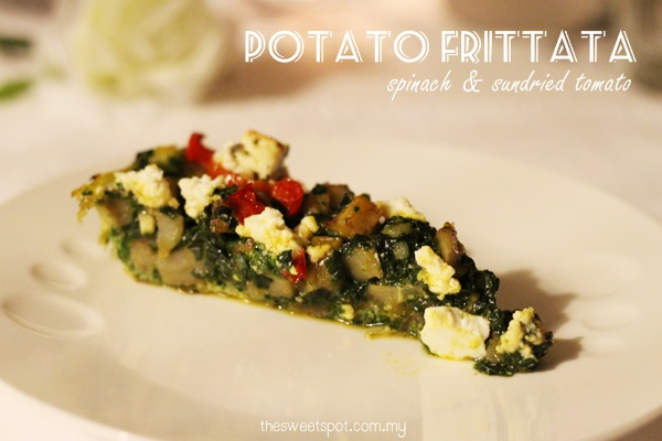 jusc - appetizer potato frittata