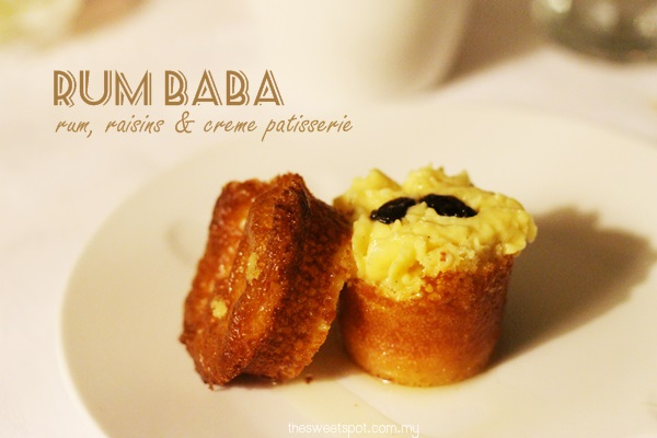 jusc - dessert rum baba raisins