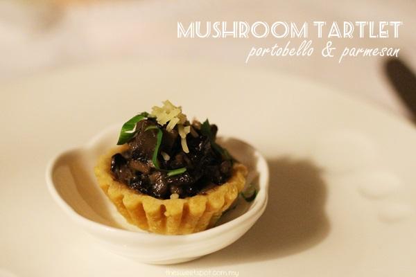 jusc - mushroom tartlet