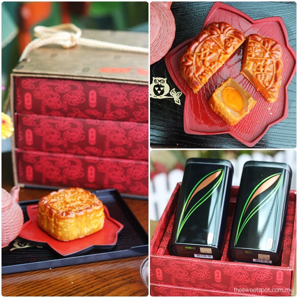 Kee Wah Supreme Mooncake Gift Box with Mooncake and tea