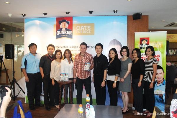 Quaker Oats for Rice pepsico media launch