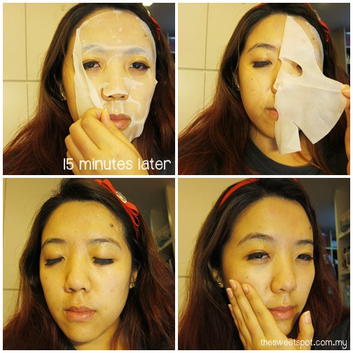 beautymate hishop polypeptide collagen revitalizing mask review