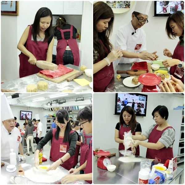 kee wah mooncake workshop media