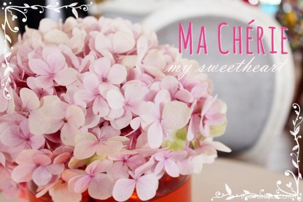 ma cherie my sweetheart