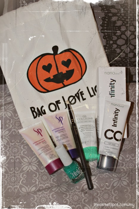 Bag of Love Halloween Edition review