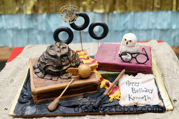 Harry Potter Cake sweesan
