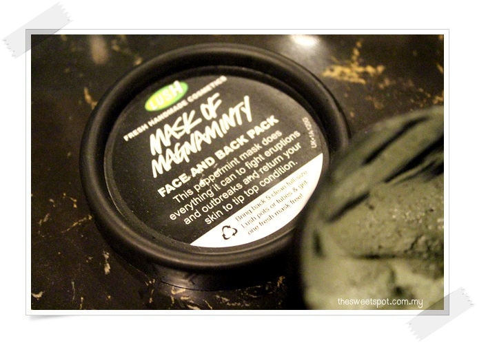 lush deep cleansing mask