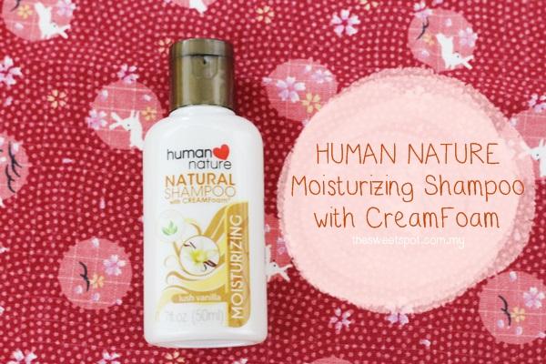 modbox human nature shampoo