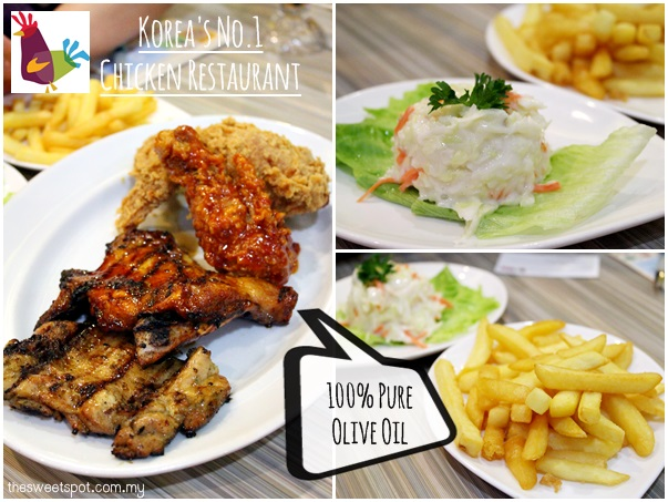 1 Utama - Food Wonder - BBQ Chicken korean
