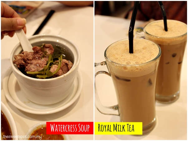 1 Utama - Food Wonder - LamMeeYa side drinks
