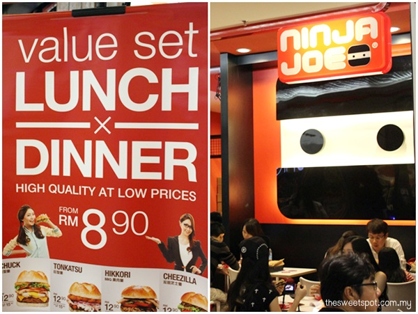 1 Utama - Food Wonder - Ninja Joe promotion