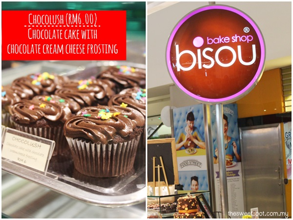 1 Utama - Food Wonder - bisou bake shop - Chocolush cupcake