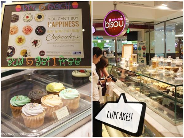 1 Utama - Food Wonder - bisou bake shop