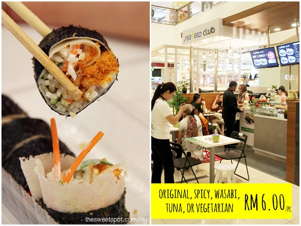 1 Utama - Food Wonder - seaweed club signature