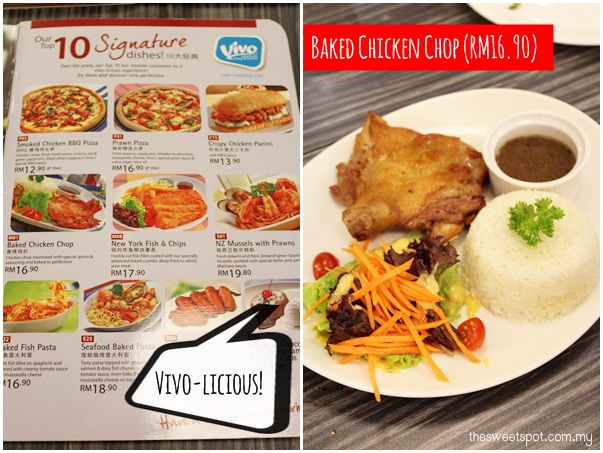 1 utama - Food wonder - Vivo baked chicken chop