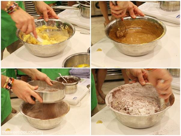 Eric Lanlard in Starhill Culinary Studio BBC chocolate cake