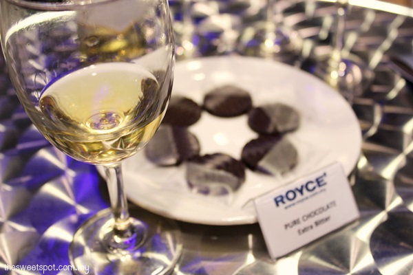 Wine & Chocolate Pairing with Nam Lee Cheong Wines and Royce Chocolate