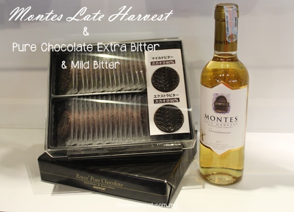 pure chocolate extra bitter - montes late harvest