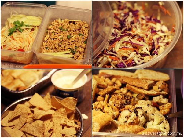 butterfly christmas pot luck sekeping sck food 4