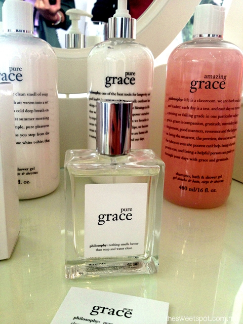 amazing grace philosophy fragrance