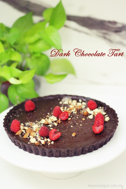 best dark chocolate tart