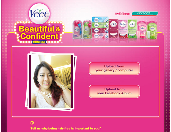 Veet be beautiful contest