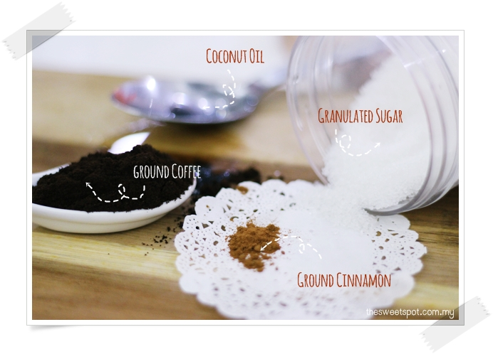 diy coffee body scrub ingredients