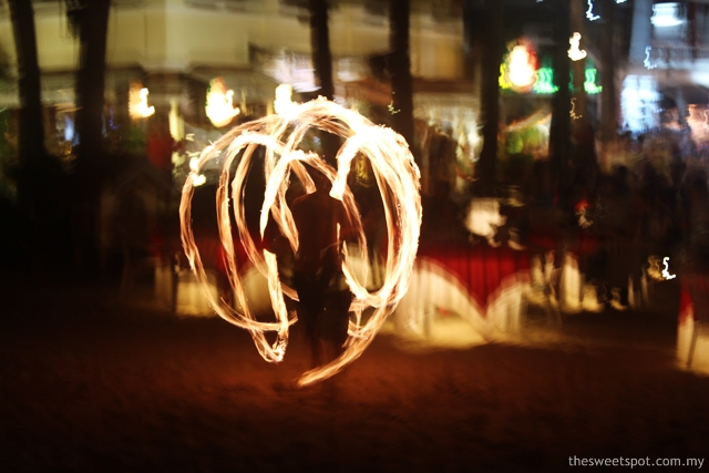 Boracay Phoenix Fire Performance